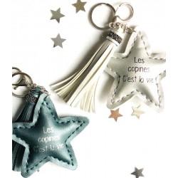 Porte clés - Les copines c'est la vie