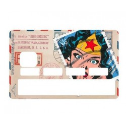 Sticker CB Timbre Wonderwoman