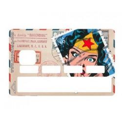 Sticker CB  Timbre Wonderwoman