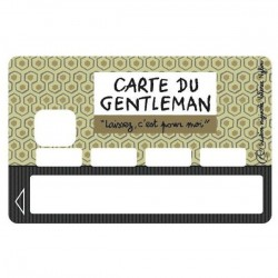 Sticker CB Carte du gentleman