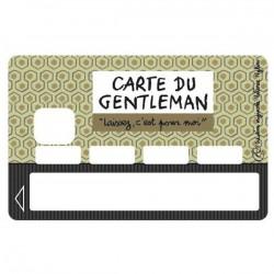 Sticker CB Carte du gentleman