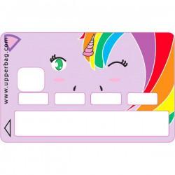 Sticker CB kawaii - licorne