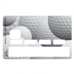 Sticker CB balle de golf