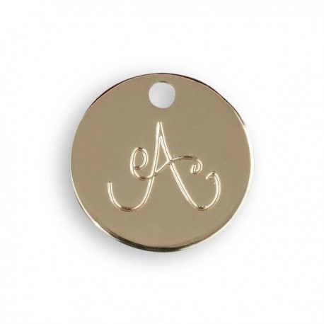Bijou avec cordon et médaille gravée - Le bijou de MIMI