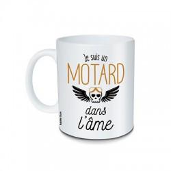 Mug Je suis un motard dans l'âme