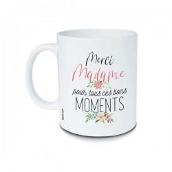 Mug Merci Madame pour tous ces bons moments