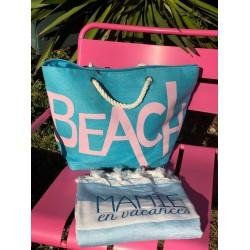 Serviette de plage fouta à personnaliser