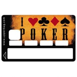 Sticker CB Poker