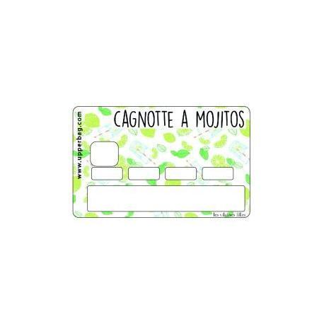Sticker CB Cagnotte à mojitos