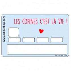 Sticker CB Les copines c'est la vie