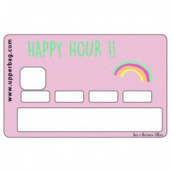 Sticker CB Happy hour