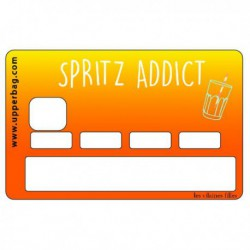 Sticker CB Spritz Addict
