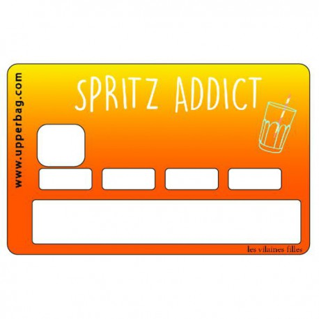 Sticker CB Spritz Addict