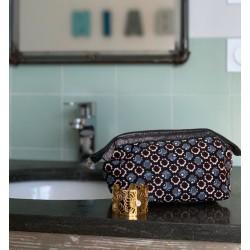 Trousse de toilette motif étoiles