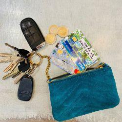 Porte-clés porte monnaie Aby