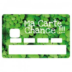 Sticker CB Ma carte chance