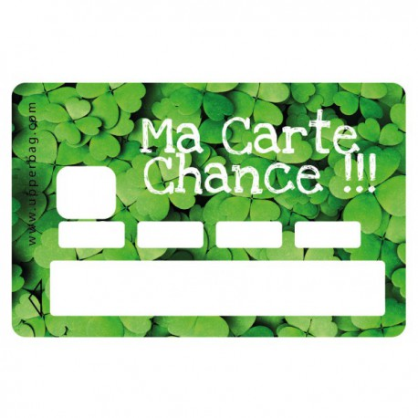 Sticker CB Ma carte chance
