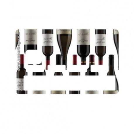 Sticker CB bouteilles de vin