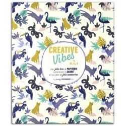 Kit papeterie carnet Creative vibes