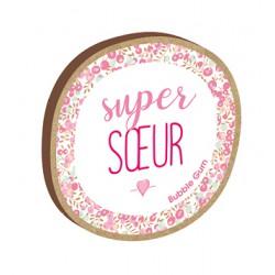Magnet personnalisé Super Soeur