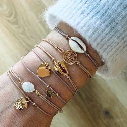 Bracelet charm Or Sylvette