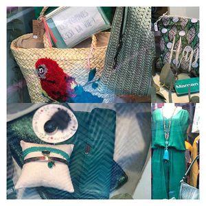 // NOUVELLE VITRINE // pour le printemps.... on aime le vert chez Sylvette. Nouveaux arrivages de bijoux ZAG . . . #zagbijoux #bijouxcreateur #bijouxfantaisie #nouvellevitrine #tenuedujour #nouveautes #printemps #likeforlikes #instagood