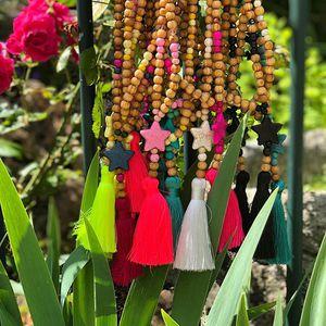 //TANT ATTENDUS// ils sont revenus.... avec le soleil. Pourvu que ça dur😱😱. . . .#sylvetteengoguette #conceptstore #collier #bijoux #bientotlesvacances #soleil