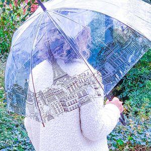 // SOUS LA PLUIE ON RIT // Quand on attend la #pluie pour sortir son #parapluie avec ses petits dessins de #paris . .voir nos modèles en story RDV CHEZ SYLVETTE EN GOGUETTE . . . #parisianstyle #parisienne #parapluie #instamoment #conceptstore #jourdepluie #automne🍂 #clamart #instamood
