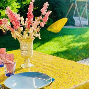 C'est l'été !! Et si on mettait du soleil dans son jardin et du pep's dans sa maison avec une toile cirée aux couleurs pimpantes ! ☀️✅ De très belle qualité et facile d'entretien au quotidien, les nappes AU MAISON sont 100% coton Oeko-tex.🤩 Vous pouvez commander votre toile cirée sur mesure à partir de 25cm de longueur ce qui vous permettra de réaliser le projet souhaité sans les contraintes de taille des nappes du commerce.Découvrez toutes nos nouveautés en boutique ou sur le site! 🛍#ConceptStore #ConceptStoreParis #CommerceLocal #CommerceDeProximité #BoutiqueEnLigne #BoutiqueDeCreateurs #CreateursFrancais #Paris #RégionParisienne #Clamart #Décoration #Déco #homedeco #home #homesweethome #appartement #LifeStyle