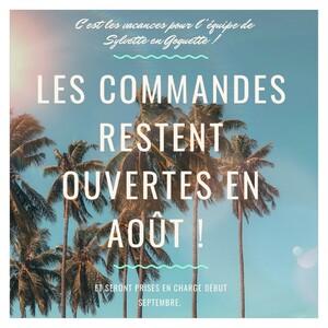 Bonjour à toutes et à tous,Sylvette est en vacances pendant le mois d'août 🏖😋 Mais pas de panique ! Vous pouvez toujours commander sur le site web !Nous prendrons en charge vos commandes à notre retour en septembre 😉D'ici là, je vous souhaite de magnifiques vacances ensoleillées ! ☀️#ConceptStore #ConceptStoreParis #CommerceLocal #CommerceDeProximité #BoutiqueEnLigne #BoutiqueDeCreateurs #CreateursFrancais #Paris #RégionParisienne #Clamart