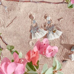 // SE FAIRE BELLE // et se parer d'une jolie paire de BO Bientôt les BO de Sylvette seront sur en ligne. Existe en plusieurs couleurs. Vous aimez ce style?