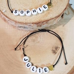 // BRACELET PRÉNOM //⠀ Un petit bracelet a offrir. Un mot doux, un prénom, maman, papa.... un bracelet pour femme ou un bracelet pour homme. Élégant et simple⠀ ⠀ LES BRACELETS SONT SUR LE SUR LE ESHOP (lien dans la bio)⠀ .⠀ .⠀ .⠀ .⠀ .⠀ #braceletlover #braceletsoftheday #braceletfantaisie #bijouxcreateur #madeinfrance🇫🇷 #bijoupersonnalisé #friendshipbracelet #bijouxfantaisie #ideecadeau #bijouxdujour #conceptstoreparis #clamart #sylvetteengoguette