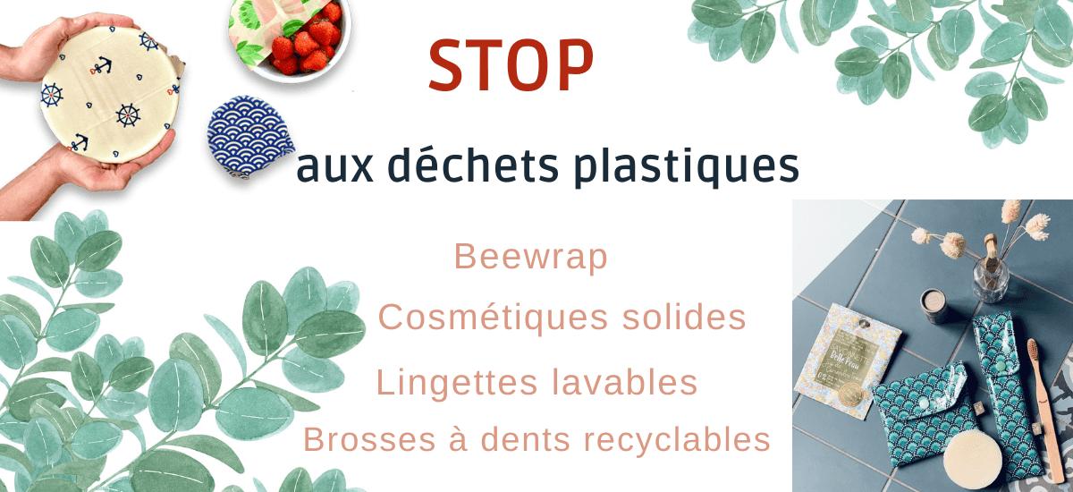Stop aux déchets plastiques